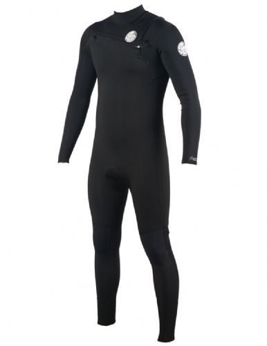 RIP CURL AGGROLITE 4/3 CHEST ZIP WETSUIT